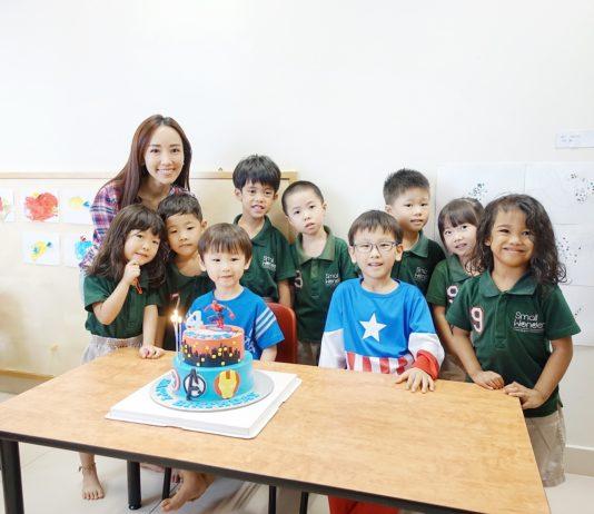 White Spatula Spiderman Birthday Cake