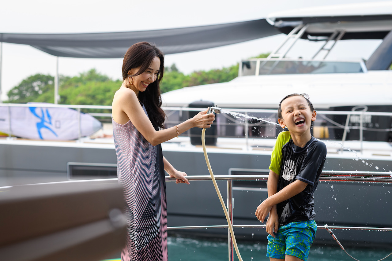 A Day at Marina at Keppel Bay with The Little One